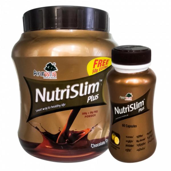 Nutri Slim Plus Capsules and Nutri Slim Plus Powder Combo