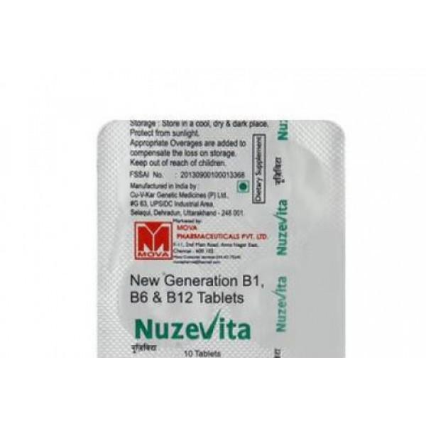 Nuzevita, 10 Tablets