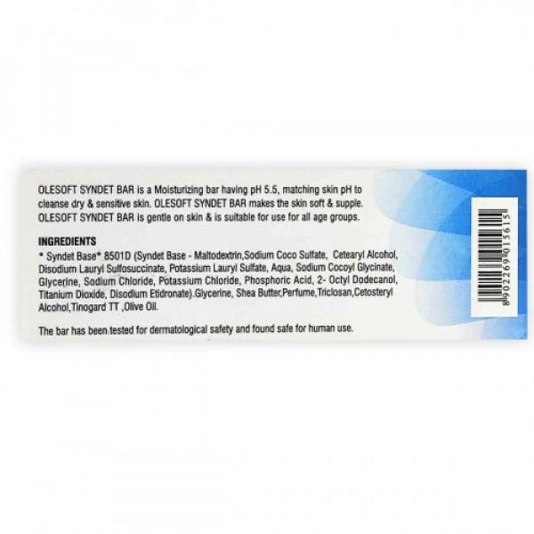 Olesoft 5.5 Moisturizer Soap, 75gm
