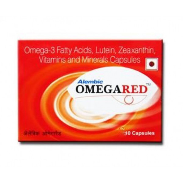 Omegared, 10 Capsules