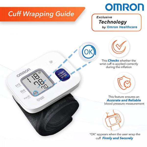 Omron HEM 6161 Wrist BP Monitor