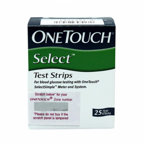 OneTouch Select Test Strips, 10's