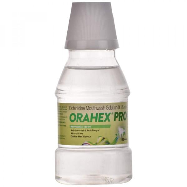 Orahex Pro Mouth Wash, 150ml