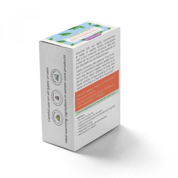 Bonsoul Organic Cinnamon Leaf Essential Oil,10ml