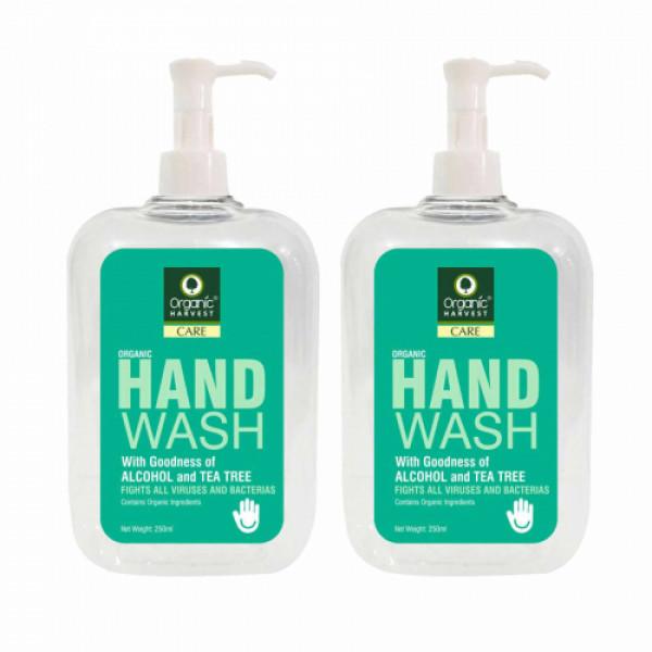 Organic Harvest Tea Tree Hand Wash, 250ml (Pack Of 2)