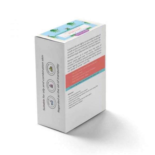 Bonsoul Organic Vetiver Essential Oil, 10ml