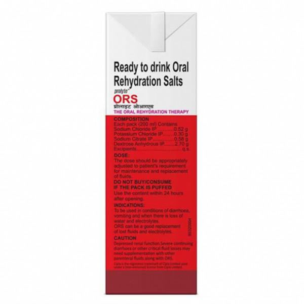ORS Prolyte Apple Liquid, 200ml