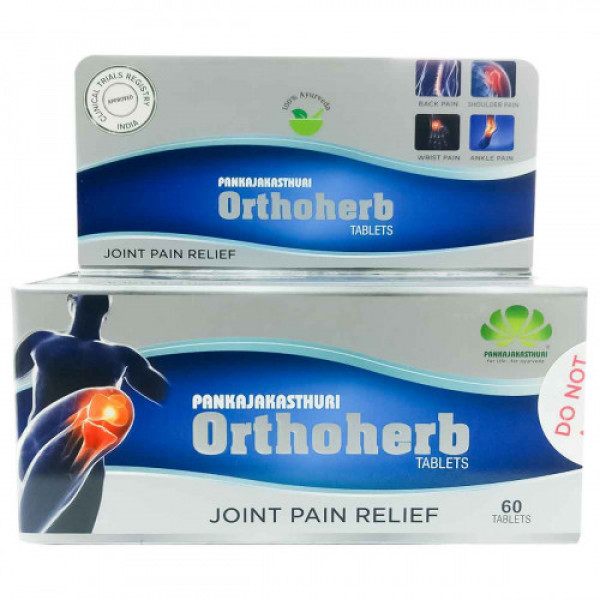 Pankajakasthuri Orthoherb, 60 Tablets