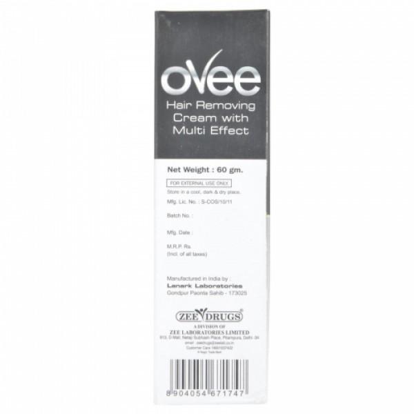 Ovee Hair Removing Cream, 60gm - Black Currant