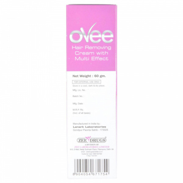 Ovee Hair Removing Cream, 60gm - Lavender Special