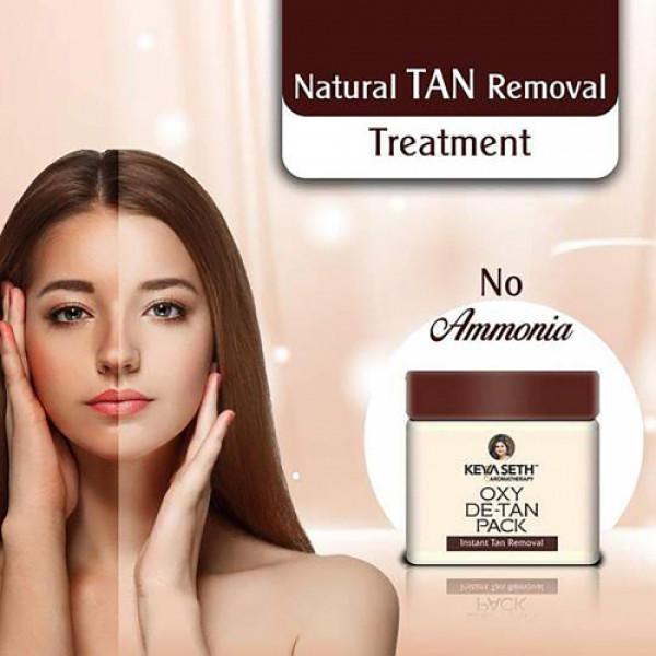 Keya Seth Aromatherapy Oxy De Tan Pack Instant Tan Removal, 50gm