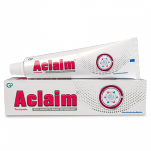 Aclaim Toothpaste, 70gm