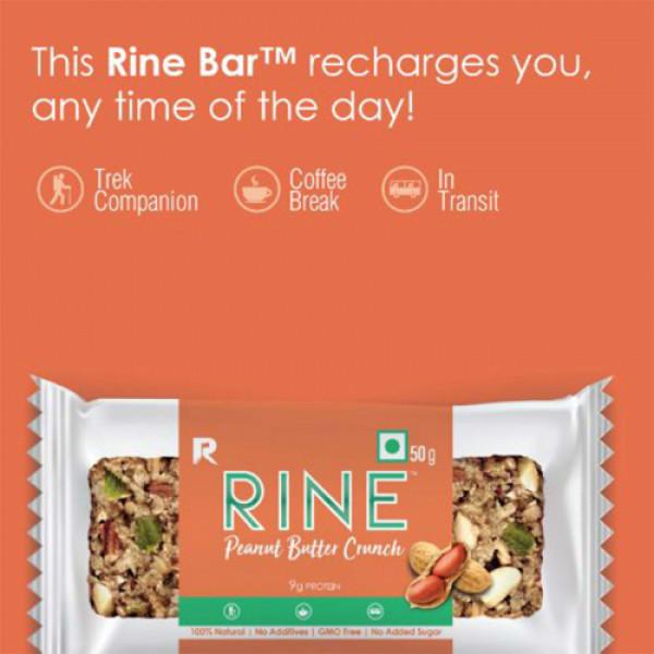 Rine Peanut Butter Crunch Granola Bar, 50gm (Pack Of 6)