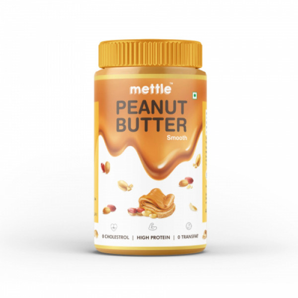 Mettle Peanut Butter, 907gm (Smooth)