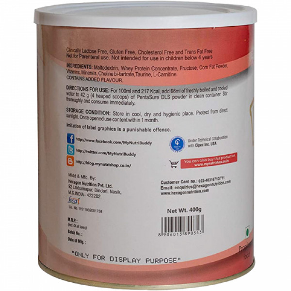 Pentasure DLS Powder, 400gm