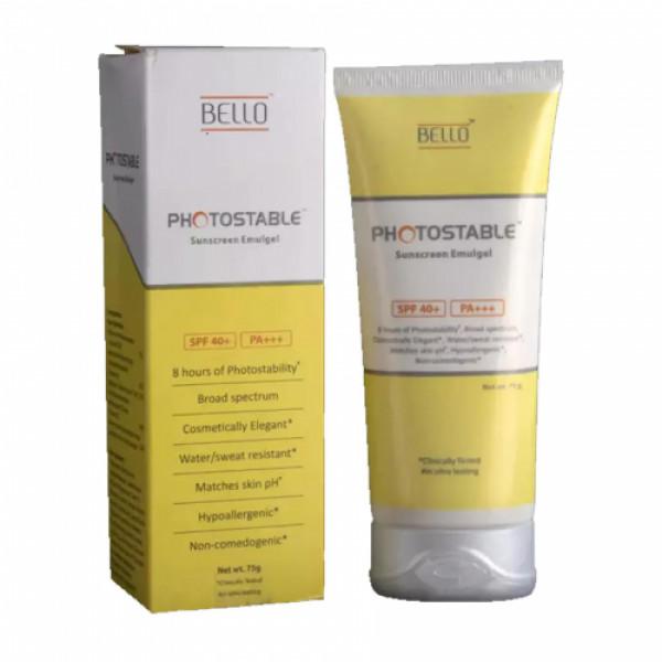 Photostable Sunscreen Gel, 75gm