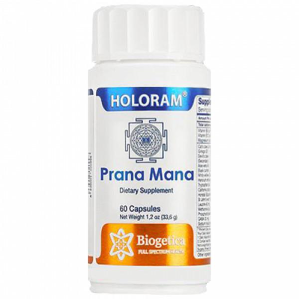Biogetica Holoram Prana Mana, 60 Capsules