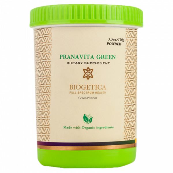 Biogetica PranaVita Green Powder, 100gm