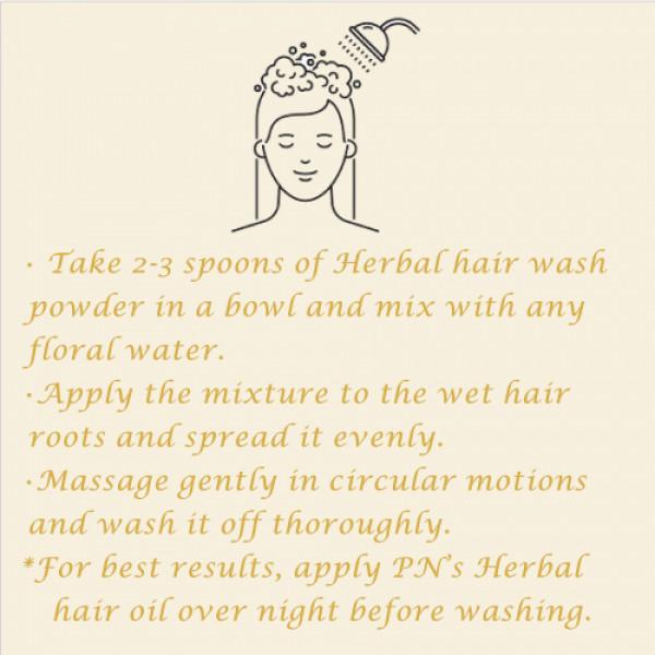 Precious Nature Organic Herbal Hair cleanser, 75gm