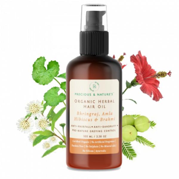 Precious Nature Organic Herbal Hair oil, 100ml