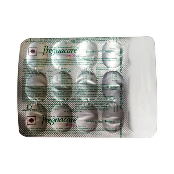 Pregnacare Forte Plus, 30 Capsules