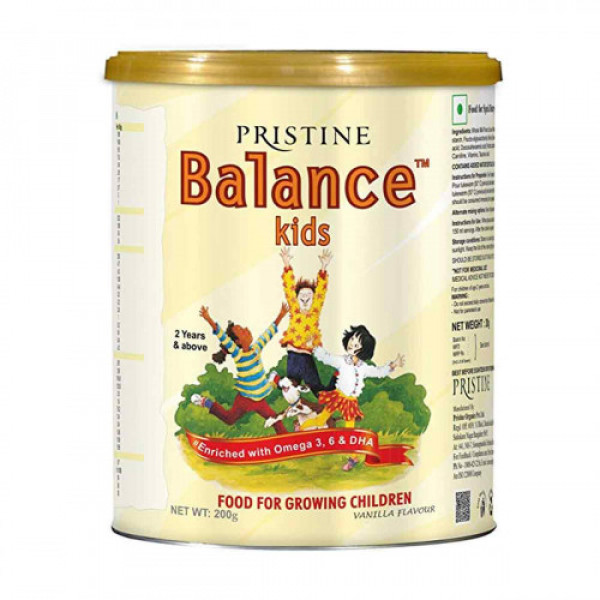 Pristine Balance Kids-Vanilla, 200gm