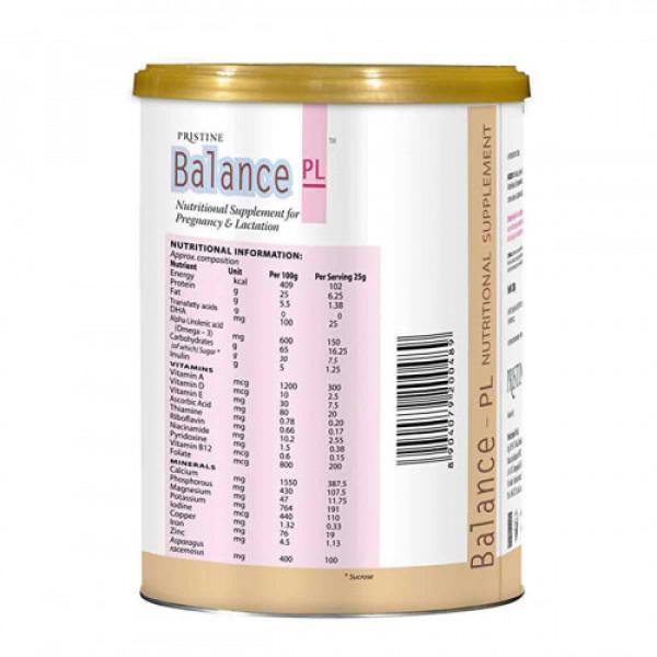 Pristine Balance PL-Vanilla, 200gm