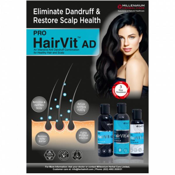 Millennium Herbal Care Pro Hairvit Ad Oil, 100ml