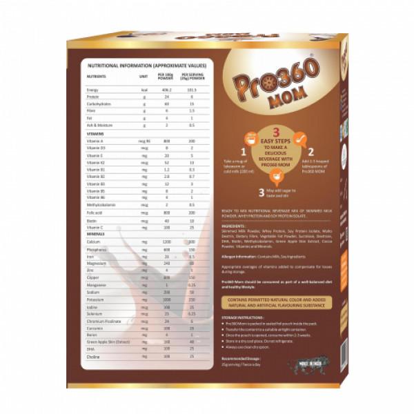 Pro360 MOM Swiss Chocolate Flavour, 400gm