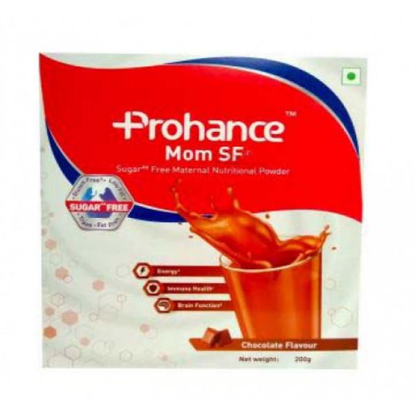 Prohance Mom Sugar Free - Chocolate Flavour, 200gm