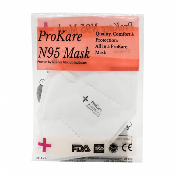 ProKare N95 -  Earloop 5 layers Protection Face Mask