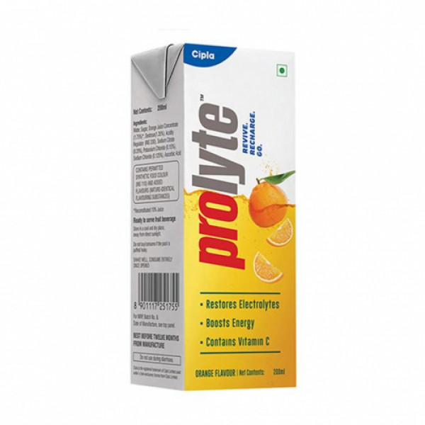 Prolyte Rehydrate Orange Liquid 200ml