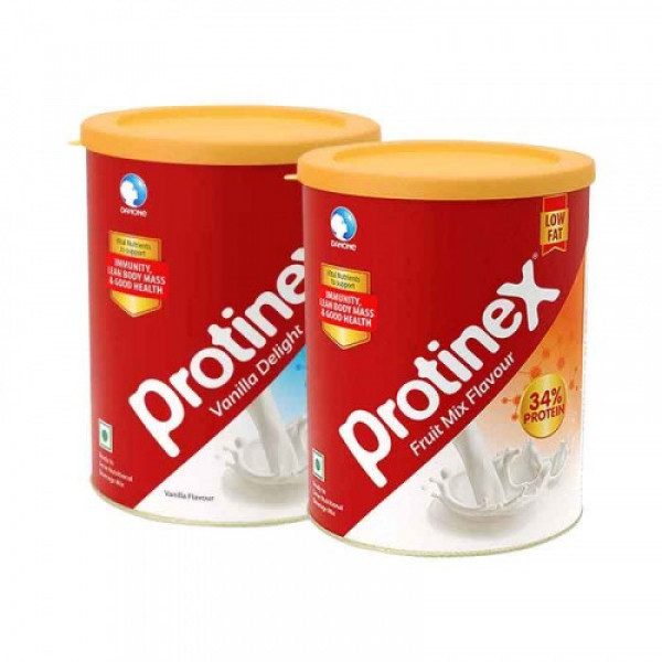 Protinex Combo - Vanilla Delight with Fruit Mix Powder, 400gm