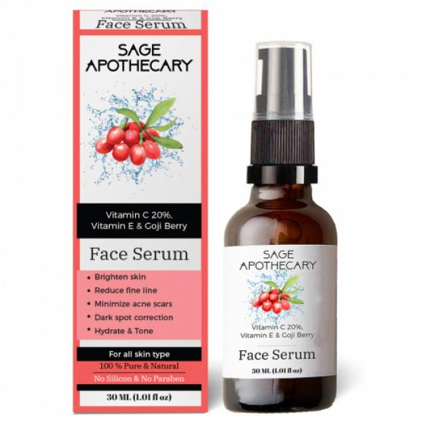 Sage Apothecary Vitamin C20% Serum, 30ml