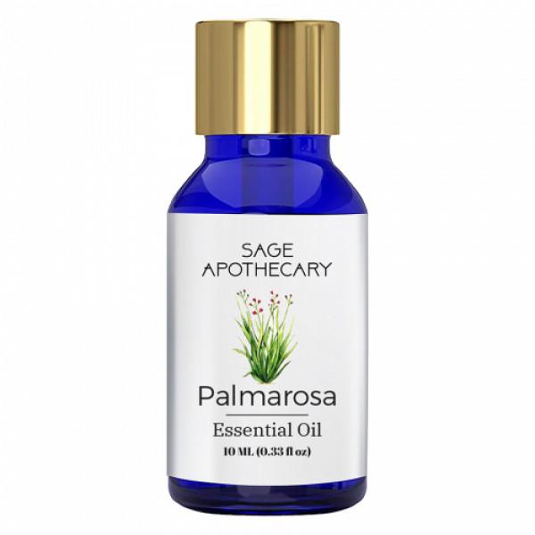 Sage Apothecary Palmarosa Essential Oil, 10ml