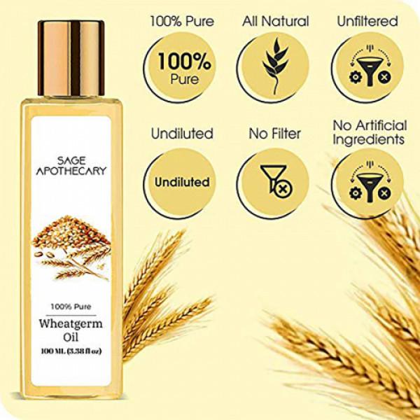 Sage Apothecary Wheatgerm oil, 100ml
