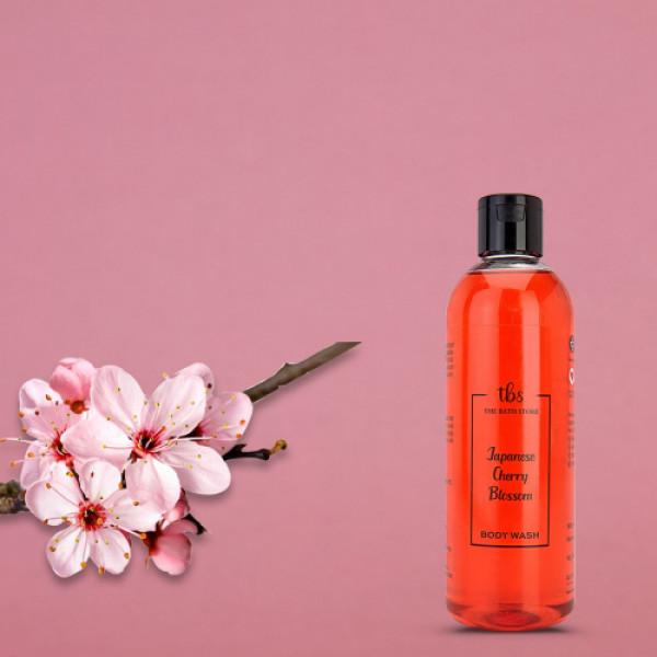 The Bath Store Japanese Cherry Blossom Body Wash, 300ml