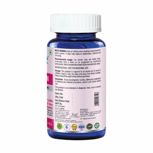 Onelife Multi Woman 40+, 60 Tablets