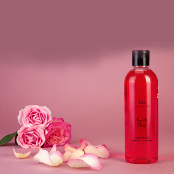 The Bath Store French Rose Body Wash, 300ml