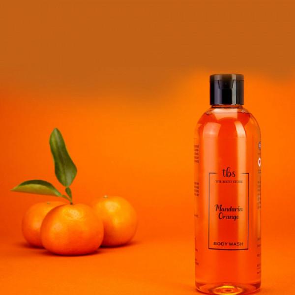The Bath Store Mandarin Orange Body Wash, 300ml