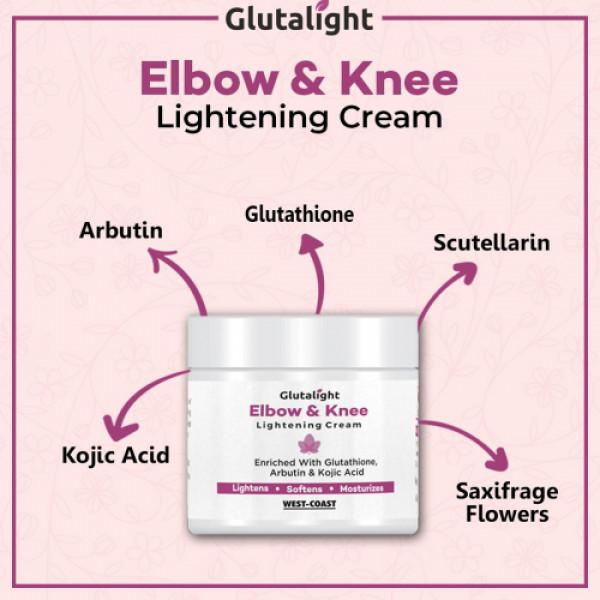 Glutalight Elbow & Knee Cream, 50gm