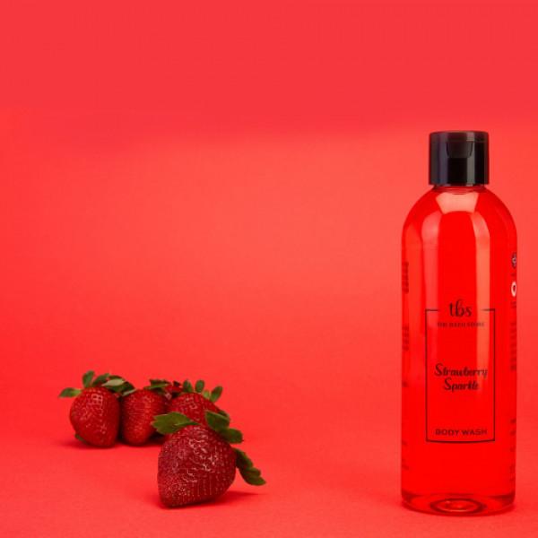 The Bath Store Strawberry Sparkle Body Wash, 300ml