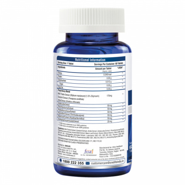 Onelife Liv Dtox, 60 Tablets