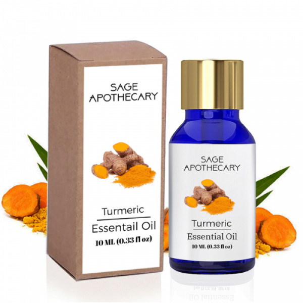 Sage Apothecary Turmeric Essential Oil, 10ml