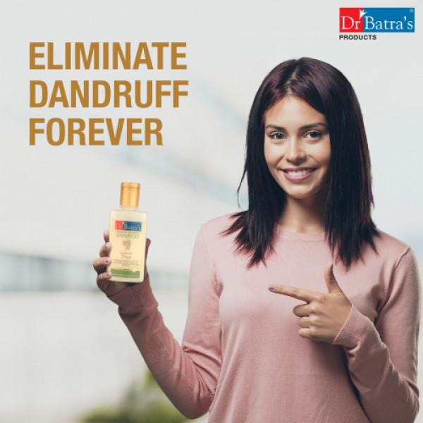 Dr Batra's Anti Dandruff Hair Serum, Conditioner, Oil, Nourish Colour Black and Shampoo