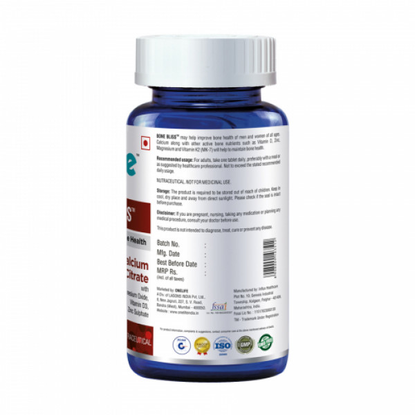 Onelife Bone Bliss, 60 Tablets