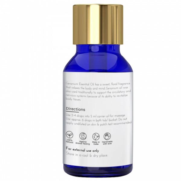 Sage Apothecary Geranium Essential Oil, 10ml