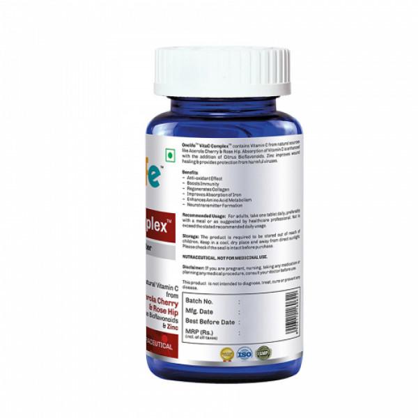 Onelife VitaC Complex, 60 Tablets