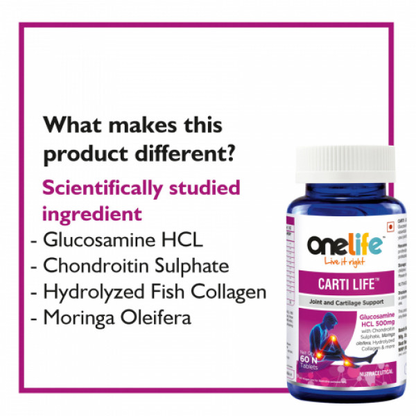 Onelife Carti Life, 60 Tablets