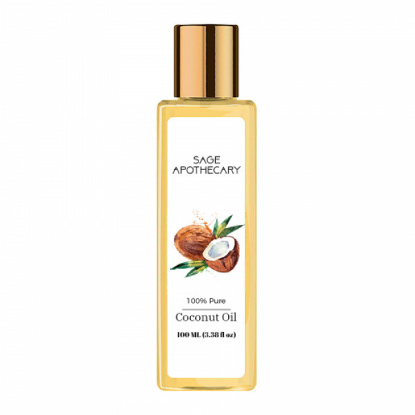 Sage Apothecary Coconut Oil, 100ml